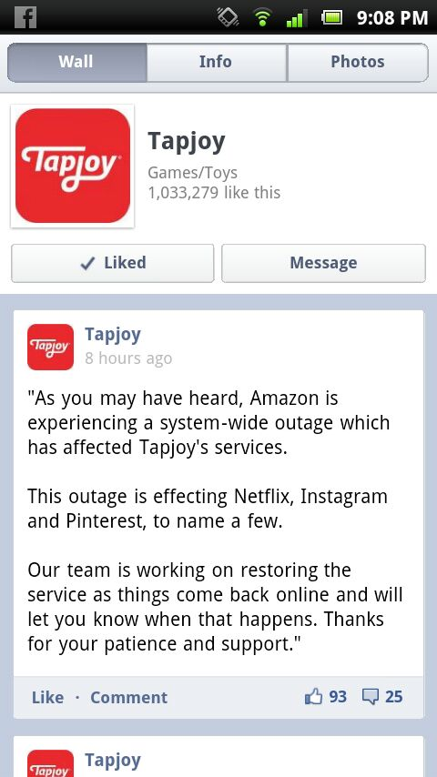 Look at this if Tapjoy isn't working for you