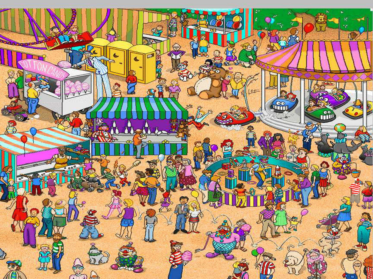 This is a picture of Irresistible Where's Waldo Pictures Printable