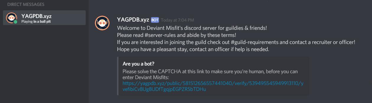 Deviant Misfits Discord Server