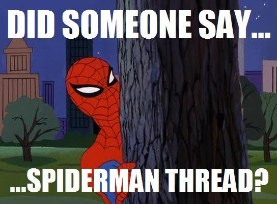 Did someone say spiderman thread - photo#3