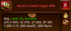 Click image for larger version.  Name:deathenginerifle-stats.png Views:1921 Size:48.6 KB ID:185640