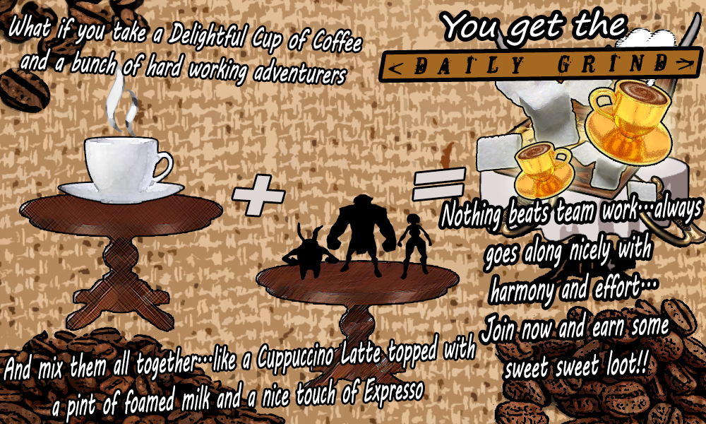 Name:  Arcane legends the daily grind guild promotional poster.png Views: 365 Size:  629.6 KB