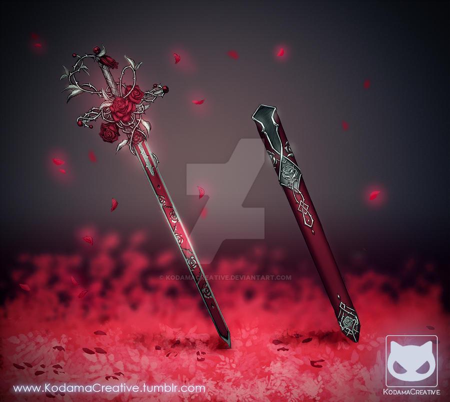 Name:  commission__sword_design___rose_blade_by_kodamacreative-d826goh.jpg Views: 379 Size:  79.2 KB